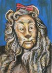 Wizard of Oz - Cowardly Lion by AshleighPopplewell