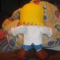 Kirsty Plushie -Back view by supernanny191