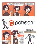 Comic update announcement and Patreon! by NatAsplund