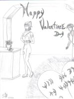 Kitt and Artha Valentines Day by Shearkin