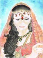 COMPLETED COMPETITION ENTRY 2 - indian FEMALE by DEANJENO--art