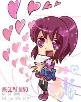 Happiness charge precure: Megumi Aino by Puyo0702
