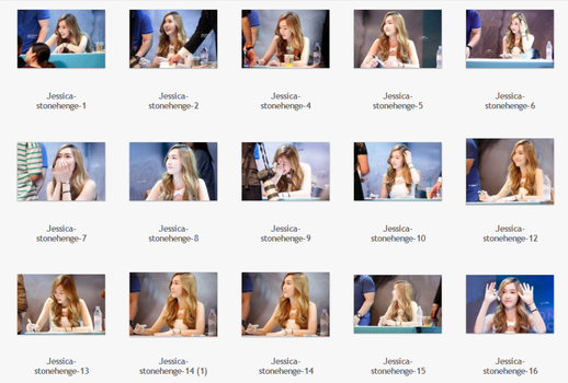#4 : Pack stock Jessica by JuneNaoo
