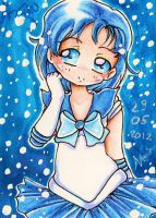 ACEO 2: Sailor Mercury by nanako87