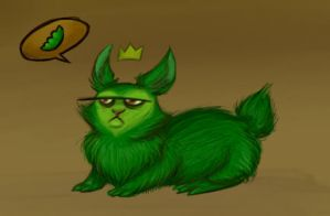 Pea by LaughingSkeleton