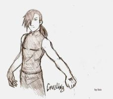 boceto Greeling by Isis-90