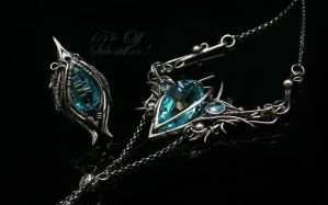 Jewelry by Lunarieen UK - silver , quartz , topaz by LUNARIEEN
