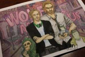 Pewdiepie, the Wolf among us by MissREDfin