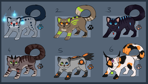 Adoptables 10 [CLOSED] by AcidNeku