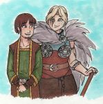 The Chief and Her Husband by faerie-chan