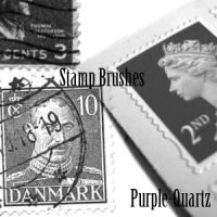 Stamps Brushes by Purple-Quartz-Brush