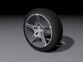 Rim and Tire by eRe4s3r
