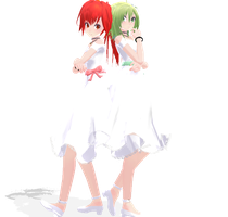 Tda One Piece GUMI and CUL by SapphireRose-chan