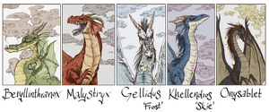 The Dragon Overlords - DRAGONLANCE by Szacsi