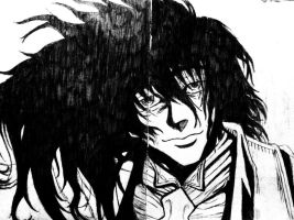 Alucard Smiling by MyBloodyDeadZombie