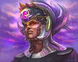 Helm Of Dominion by bocho