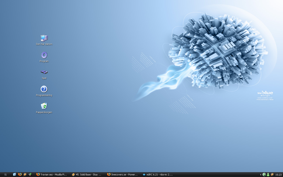 My desktop by ZuqR