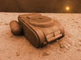 Mars Shuttle Detached by skphile