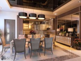 DINING AND PANTRY VOL 2, MEDAN by TANKQ77
