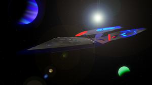 USS Trenalk NCC-1801-F Anterius Class------ by Marksman104