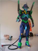 Cosplay EVA-01 is ready by V-male
