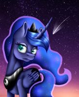 Princess Luna by InspiredPixels