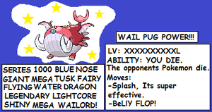 MEGA WAILORD by BlueEvelyn