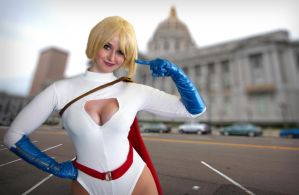 Power Girl by dax000ah