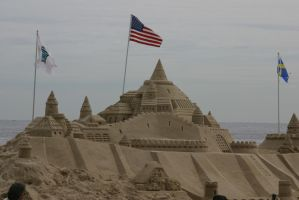 Castles in the sand by jswis by jswis
