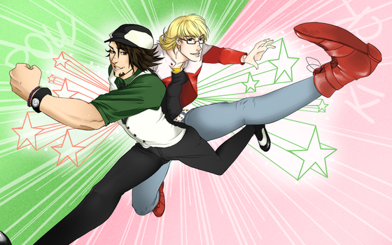 Tiger and Bunny- Wallpaper by MailDelivery