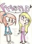 Corie and Abby by LoveHeyArnoldPnF