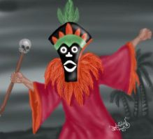 A Tiki Scare Is No Fair by DanloS