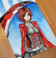 Ruby Rose by Outside-Observer