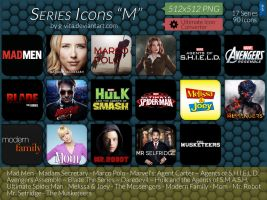 TV Series Icons M by g-Vita