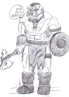 Orc Barbarian by The-Drunken-Celt
