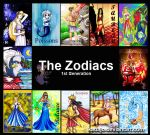 Zodiac 1st generation by Kadajo