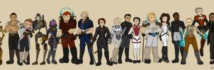 Steampunk Mass Effect by doppelgangergeisha