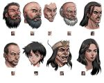 Portraits for RPG 2 by windship