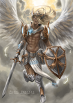 Angel Knight by Inui-Purrl