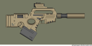 Carnotaurus SMG by Robbe25
