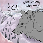 200 Watcher Give away Raffle!!! CLOSED by VelociyDrawing17
