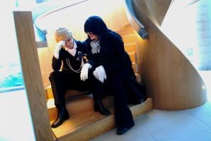 Pandora Hearts - Master and Servant by blademaster57