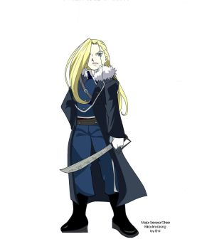Olivier Mira Armstrong by paintprincessemi