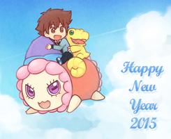 HNY2015 by Well-Mon