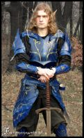 Blue Elven armor  01 by farmer-bootoshysa