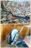 Forged Buffalo Blower Handle attatched. by Neg-319