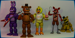 About the FNAF 1 models (Read the Description) by EverythingAnimations