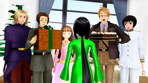 MMD Hetalia - Happy birthday, Vietnam! by PikaBlaze