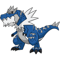 Shiny Tyrantrum Global Link Art by TrainerParshen
