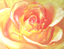 Yellow Rose by red---sonja